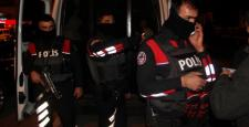 500 polisle düzenlenen baskında 75 gözaltı