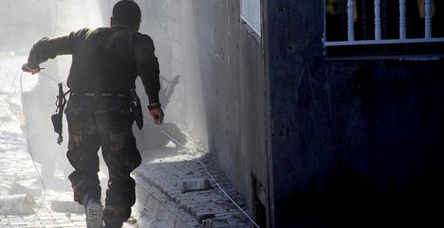 Sur'da hendekte patlama: 1 Şehit, 5 Yaralı