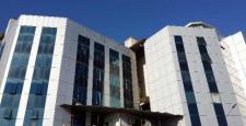 Veni Vidi hastanesi'ne Sur'dan roket isabet etti