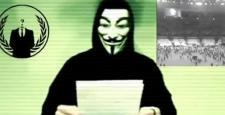 Anonymous Rus televizyon kanalında: Türkiye'ye saldırmaya devam