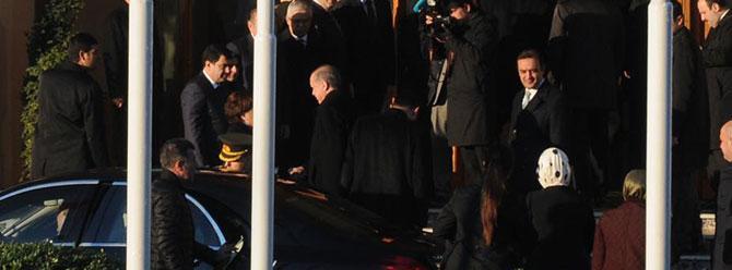 Cumhurbaşkanı Erdoğan konferans için Fransa'da