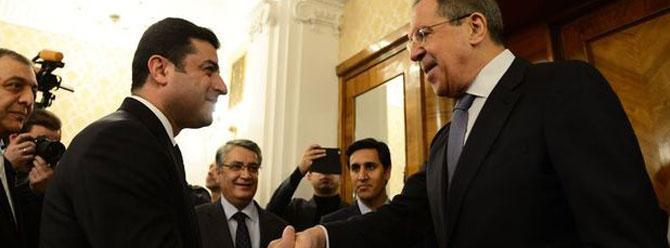 Demirtaş Lavrov ile görüştü