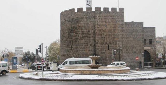 """Diyarbakır Valiliği'nden """"Kar Uyarısı"""""""