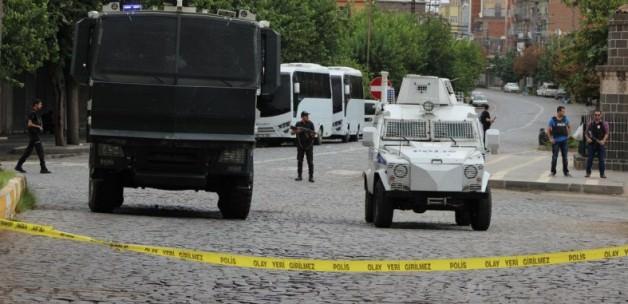 Diyarbakır Sur'da yine sokağa çıkma yasağı (2 Aralık 2015)