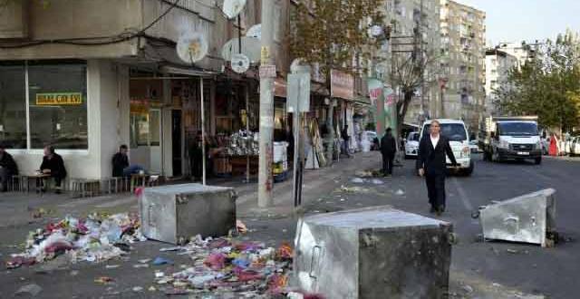 Diyarbakır'da 3 Gündür Çöp Toplanmıyor