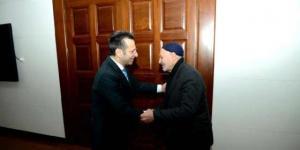 Sur Esnafı sıkıntılardan dolayı Vali Aksoy'u Ziyaret Etti