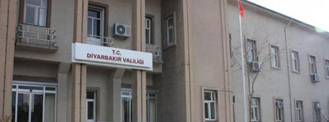 Diyarbakır Valiliği'nden 'yürüyüş' uyarısı