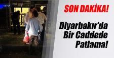 Diyarbakır Bağlar'da şiddetli patlama!