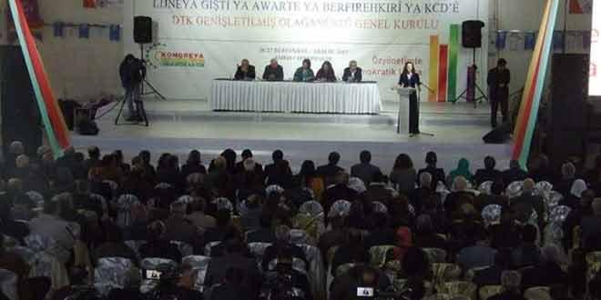 Dtk Olağanüstü Kongresi gerçekleşti