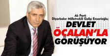 Galip Ensarioğlu; 'Öcalan'la görüşülüyor' iddiası