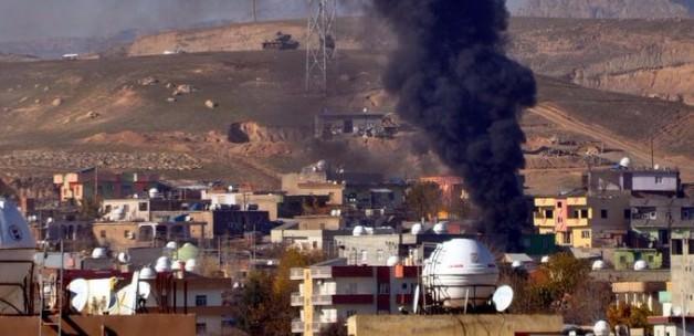İki ilçede şiddetli patlamalar yaşanıyor!