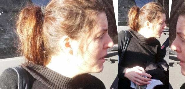 İngiliz kadın çarşaf içinde yakalandı