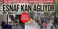 Diyarbakır'ın Sur ilçesinde 500 işyeri kapandı