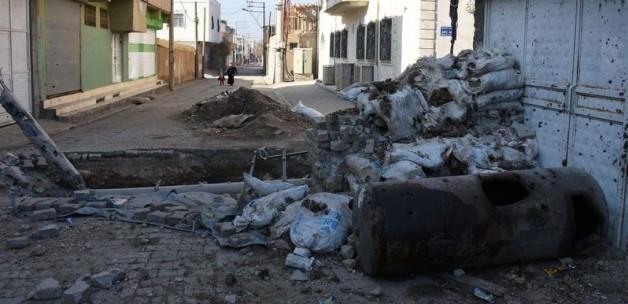 Mardin Nusaybin'de polise Roketatar'lı saldırı