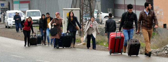 Öğretmenler Cizre ve Silopi'yi terk ediyor