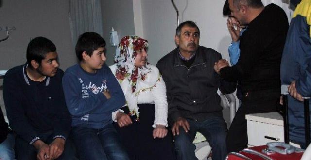 Sur'dan Kaçan Aile Hastaneye Sığındı