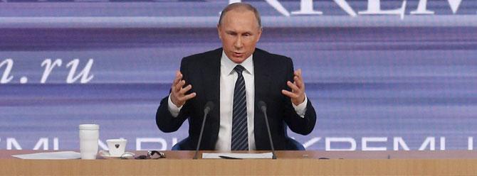 Putin: Ay'ın altında hiçbir şey sonsuza kadar sürmez