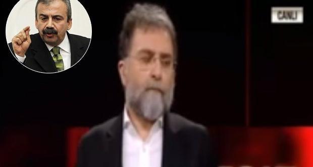 Sırrı Süreyya Önder'den canlı yayında Ahmet Hakan'a sert tepki