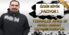 Tebrikler Amed SF, Amed Dikkat Diyarbekirspor