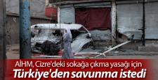 """AİHM, Cizre'deki """"Sokağa Çıkma Yasağı"""" için Türkiye'den savunma istedi"""