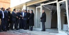 Bakan Tüfenkci, Çınar'daki Patlamada İş Yerleri Zarar Gören Esnafı Ziyaret Etti