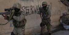 Cizre'de roketli saldırı: 5 güvenlik görevlisi yaralı
