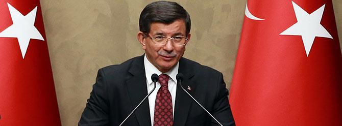 Davutoğlu: PYD'nin masaya oturmasına karşı çıkıyoruz