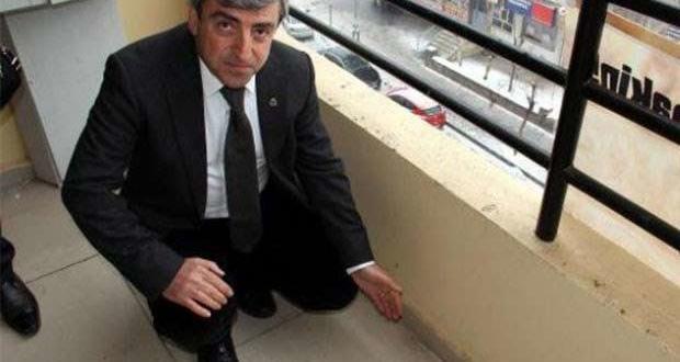 Diyarbakır Barosu Genel Sekreteri'nin odasına kurşun!