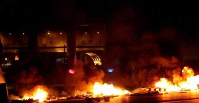 Diyarbakır Çınar'da PKK'lılar Emniyet'e bombalı araçla saldırdı
