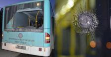 Diyarbakır'da belediye ait 2 yolcu otobüsü kurşunlandı