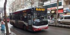 Diyarbakır'da Dolmuş ve Otobüsler çalışmadı