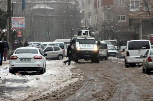 Diyarbakır'da Sur protestosuna müdahale