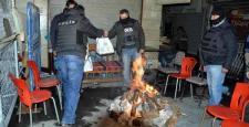 Diyarbakır yeni yıla silah ve patlama sesleri ile girdi