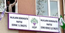 Edirne'de HDP baskını! Başkan gözaltında!