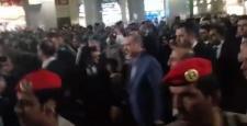 Medine'de Erdoğan'a sevgi gösterisi