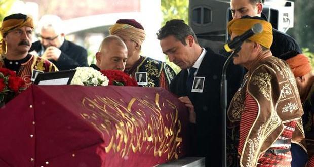 Mustafa Koç, son yolculuğuna Osmanlı Sancağı ile uğurlanıyor