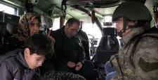Sur'da 40 gündür mahsur kalan aileyi asker kurtardı