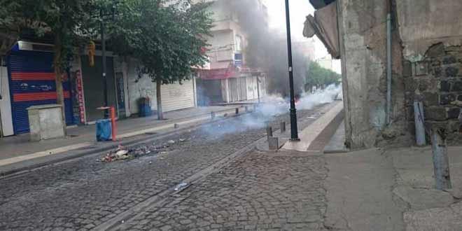 Sur'da yasak genişletildi, artık Melikahmet caddesi'de yasak
