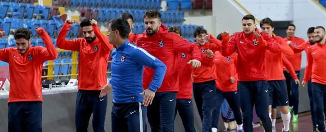 Trabzonspor'da, Antepspor kupa mesaisi başladı