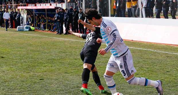 Amedspor, kupada Fenerbahçeye'de boyun eğmedi