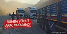 Diyarbakır Dicle'de bomba yüklü araç yakalandı