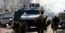 Diyarbakır'da; 15 Şubat gerginliği yaşandı