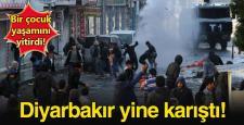Diyarbakır'da yine olay ve yine ölüm