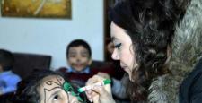 Sur'dan göç eden çocuklara sağlık taraması yapıldı