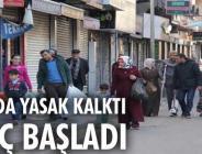 Sur'da 9 mahalle'de yasak kalktı, olaylı yerler temizlendi