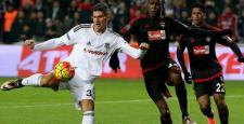 Beşiktaş; Gaziantep'e acımadı. 4-0