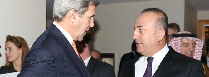 Çavuşoğlu: Kerry 'YPG güvenilmez' dedi
