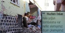 DİHA Muhabiri Mazlum Dolan: Yoğun şekilde bombalanıyoruz