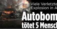 Dünya; Ankara'daki patlamayı böyle duyurdu