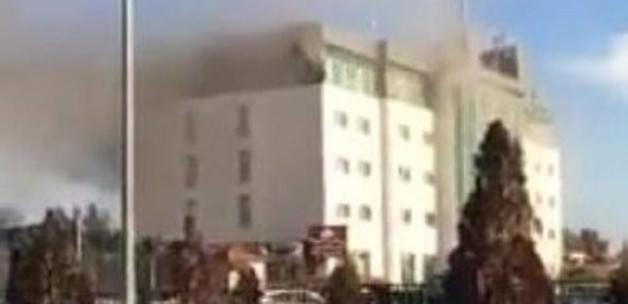 Erbil'de bir otel'de yangın çıktı: En az 19 kişi öldü